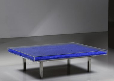 work by Yves Klein - Klein Blue® Table