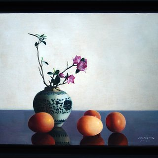Flowers and Eggs art for sale