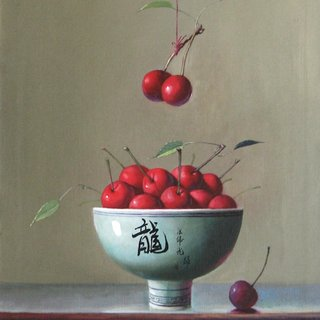 Cherries art for sale