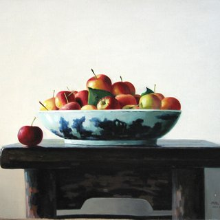 Apples on the Table art for sale