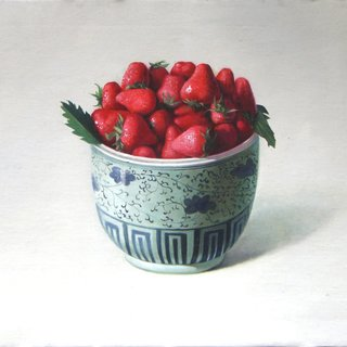 Strawberries art for sale