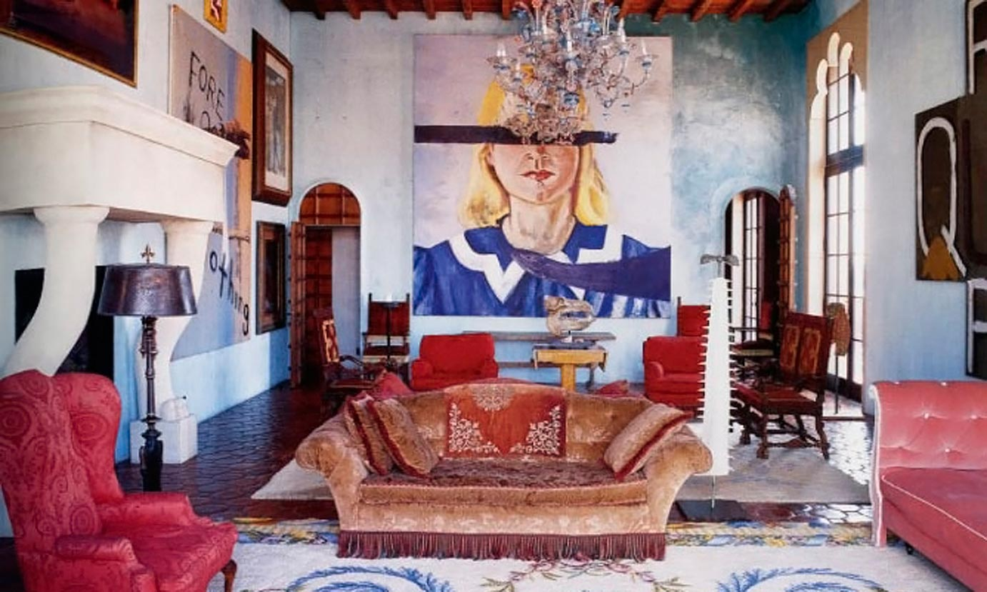 Go Big When You Go Home. Art for the Perfect Maximalist Living Room