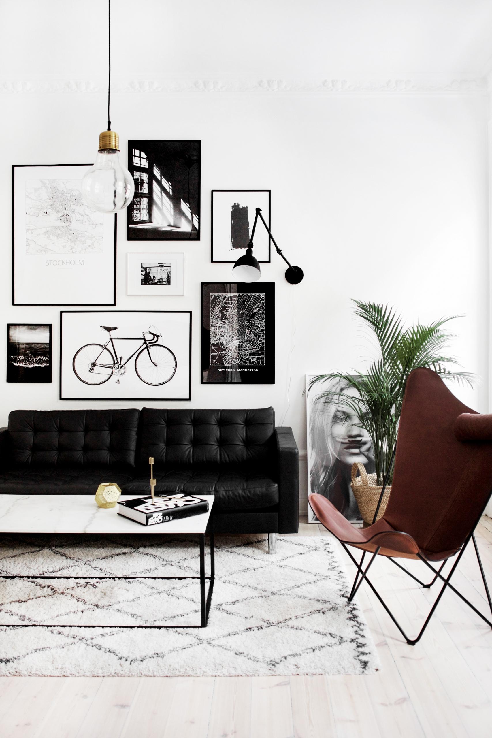 Salon Style: Black U0026 White