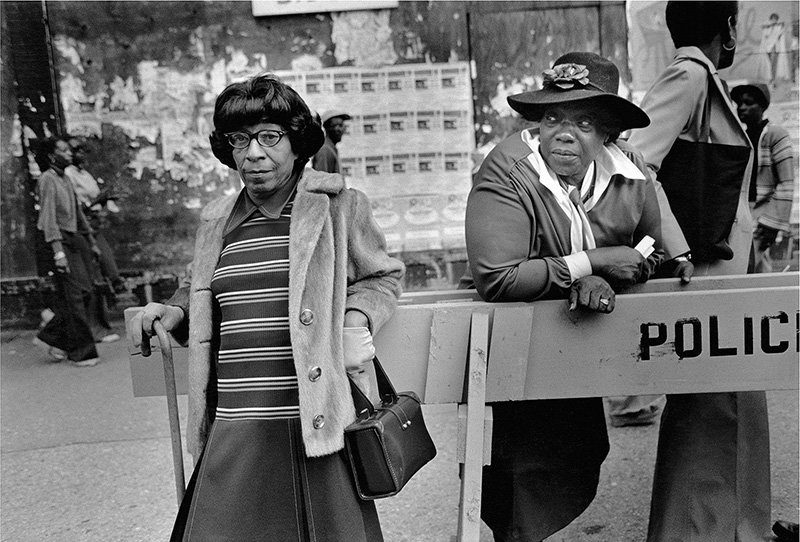 show image - Two Woman at a Parade, 1978