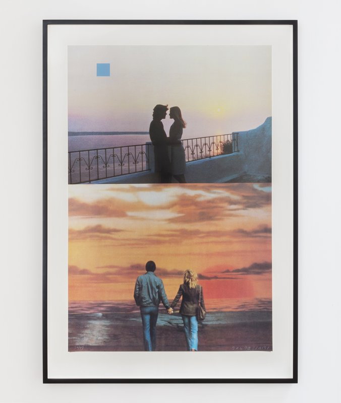 show image - Two Sunsets (One with Square Blue Moon)