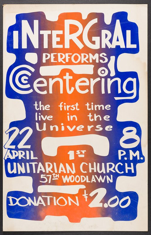 show image - Integral performs Centering poster