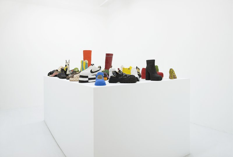show image - You're Doing Amazing Sweeting (installation view)