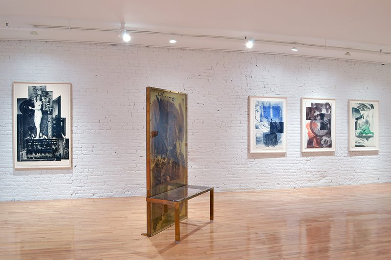 exhibition - Robert Rauschenberg: Rookery Mounds & Selected Series from the 60s and 70s