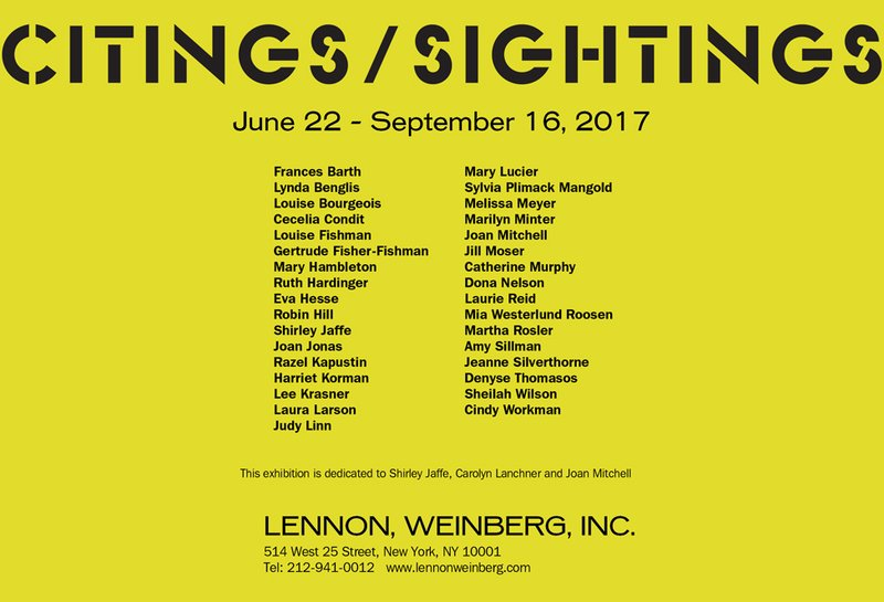 exhibition - Citings/Sightings