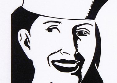 work by Alex Katz - The Sailor Hat