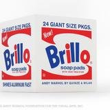 After Andy Warhol, Brillo Box POUF White