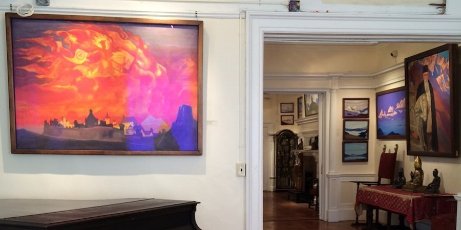 "The little-known Nicholas Roerich Museum on the Upper West Side in New York is devoted to the mystical Russian painter known as the ""Master of the Mountains"""