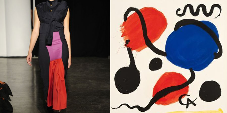 The Harbison collection quotes the wild inventions of Alexander Calder.