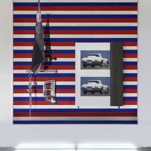 Josephine Meckseper Car Art Zooms to the Parrish