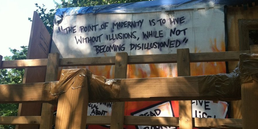 A quote by Gramsci greets visitors to the monument, which has been mounted in the center of the Bronx's Forest Houses.