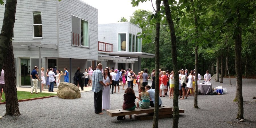 Chiswell Langhorne and the Armory Show threw a summer party in Sag Harbor last weekend.