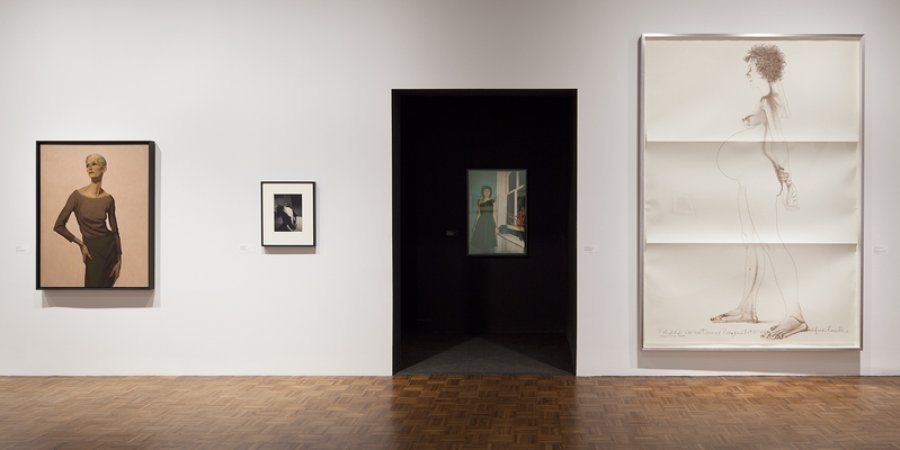 "The exhibition of work from the 1980s and 1990s is divided into five thematic sections, including ""I,"" ""YOU,"" and ""WE."""