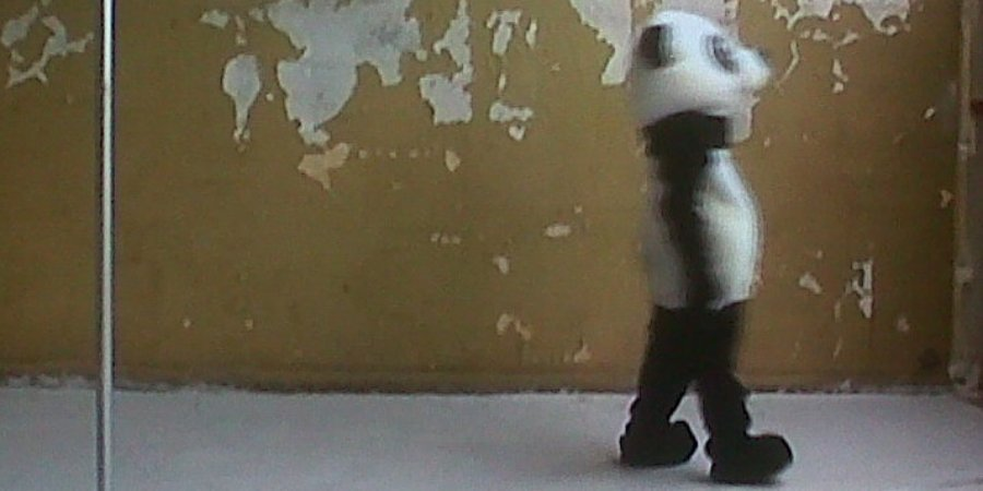 A still from Elodie Pong's video at the Swiss Institute.