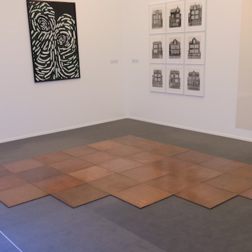 Carl Andre Takes the Floor at Frieze Masters