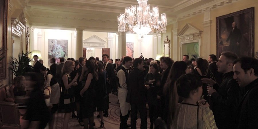 A party at the U.S. Ambassador's residence in London's Regent's Park