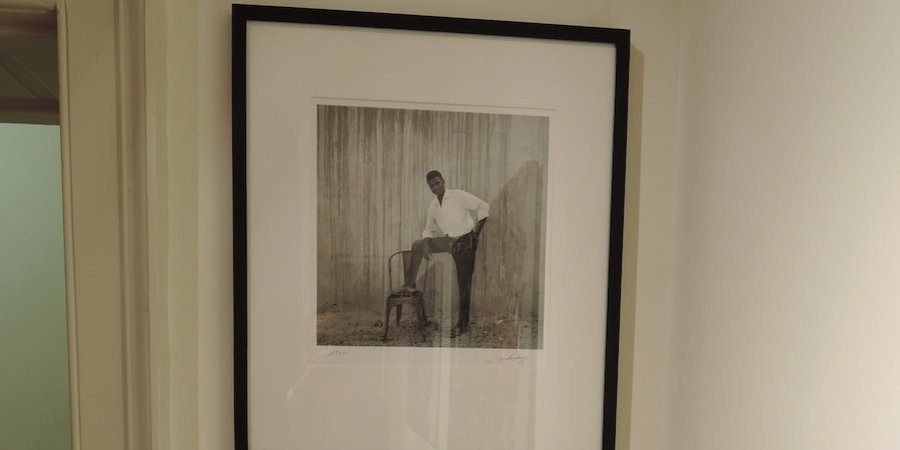 Hamidou Maiga's <em>Untitled</em> (1962) at Jack Bell Gallery