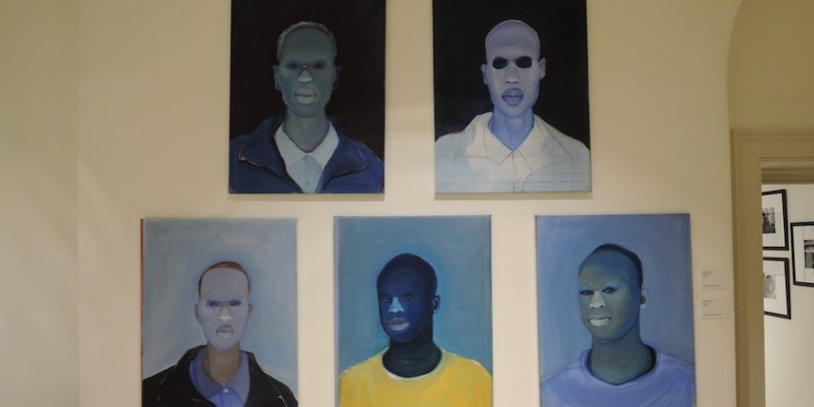 Paintings by Richard Butler-Bowen at First Floor Gallery Harare