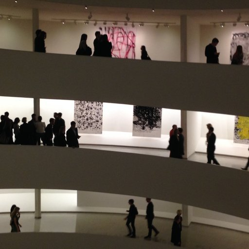 Christopher Wool at the Guggenheim, the Whitney Studio Party, & More