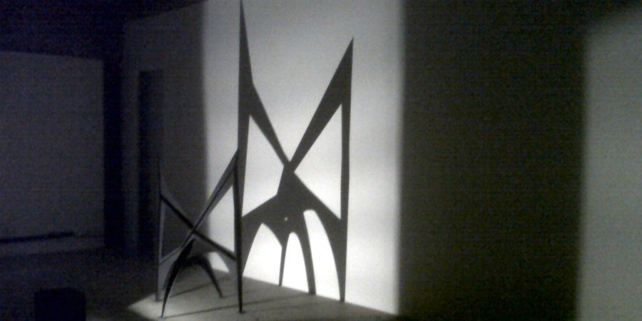 Alexander Calder shadows at Venus Over Manhattan