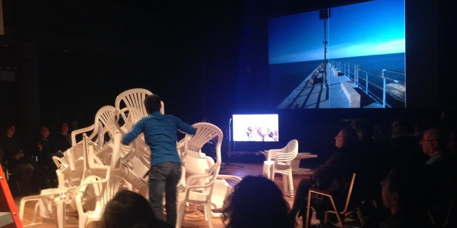"Raqs Media Collective's ""The Last International"" at Performa"