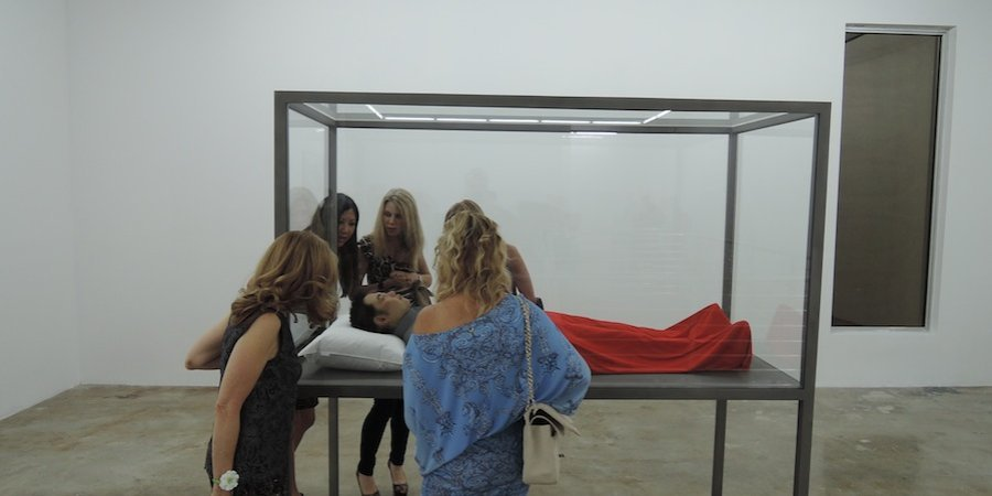 Another gallery at the Rubell show