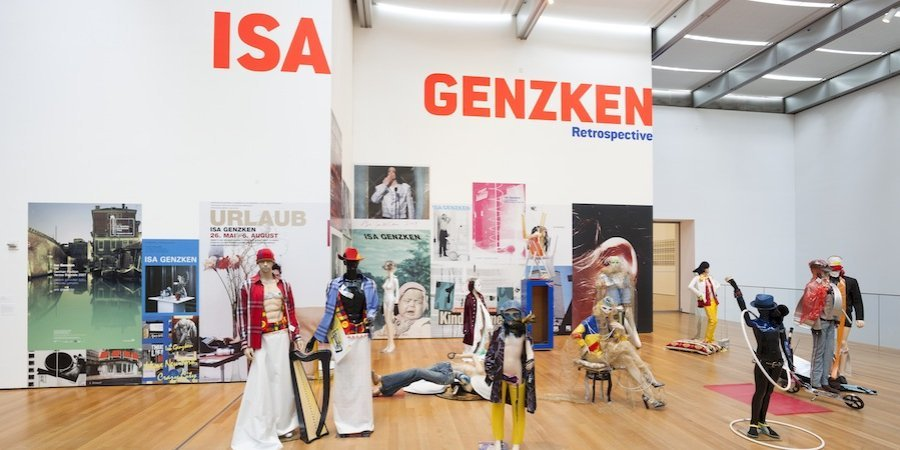 Isa Genzken's sculptural installation <em>Actors</em> (2013) opens her retrospective at MoMA. © 2014 The Museum of Modern Art, New York. Photograph: Jonathan Muzikar