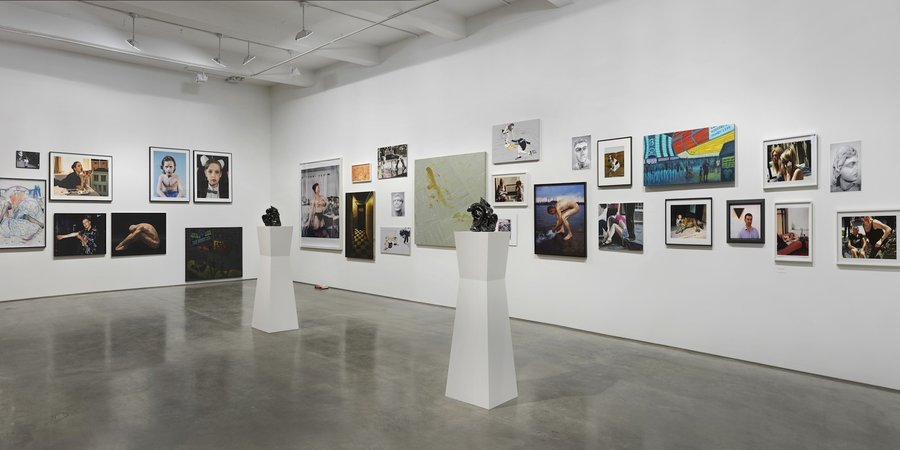 A view of the show (Courtesy of the artist and Metro Pictures)