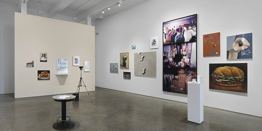 "An installation view of John Miller's ""Bad Conscience"" at Metro Pictures (Courtesy of the artist and Metro Pictures)"