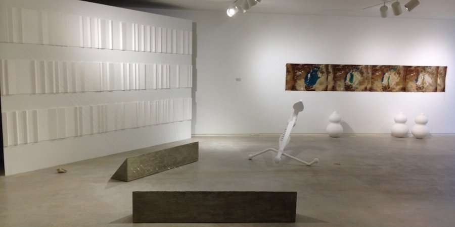 "Anton Ginzburg's new body of work, ""Walking the Sea,"" at Houston's Blaffer Musuem"