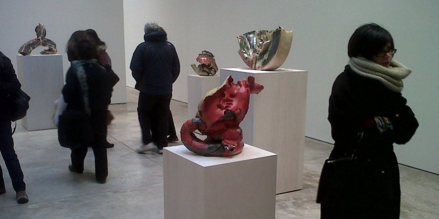 More Benglis sculptures