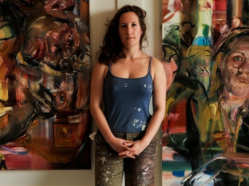 "Artist Natalie Frank on ""Giving Voice to Women's Unspoken Desires"""