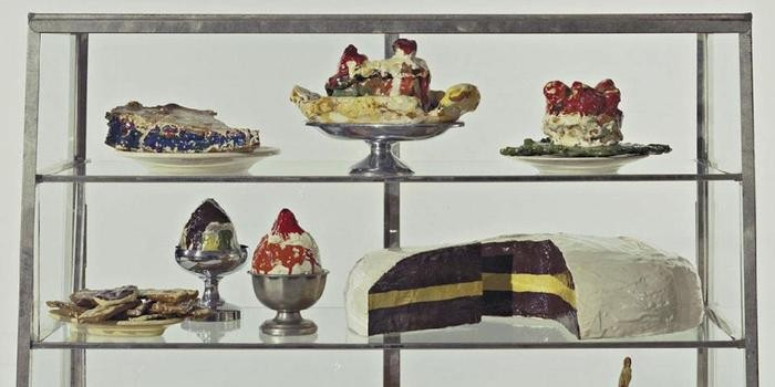 claes oldenburg pastry case