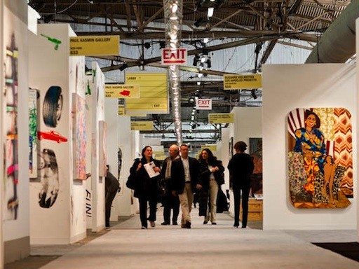 News & Events NYC Art Fairs Gird for 2013 Editions