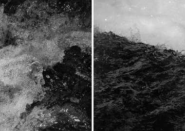 Asim Waqif - The conception of a River I [diptych]