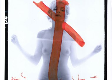 Bert Stern - Marilyn Monroe on the Cross
