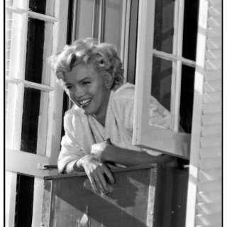 "New York. US actress Marilyn Monroe on the set of the film ""The Seven Year Itch"", directed by Billy Wilder. 1955. art for sale"