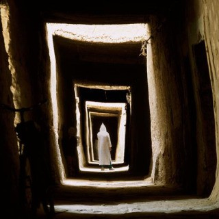 Bruno Barbey, Morocco. Village of Maadid, near Erfoud. 2002.