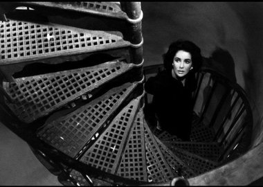 "Burt Glinn - Great Britain. London. June 1959. Twenty-five-year-old Elizabeth Taylor on the set of ""Suddenly Last Summer"""