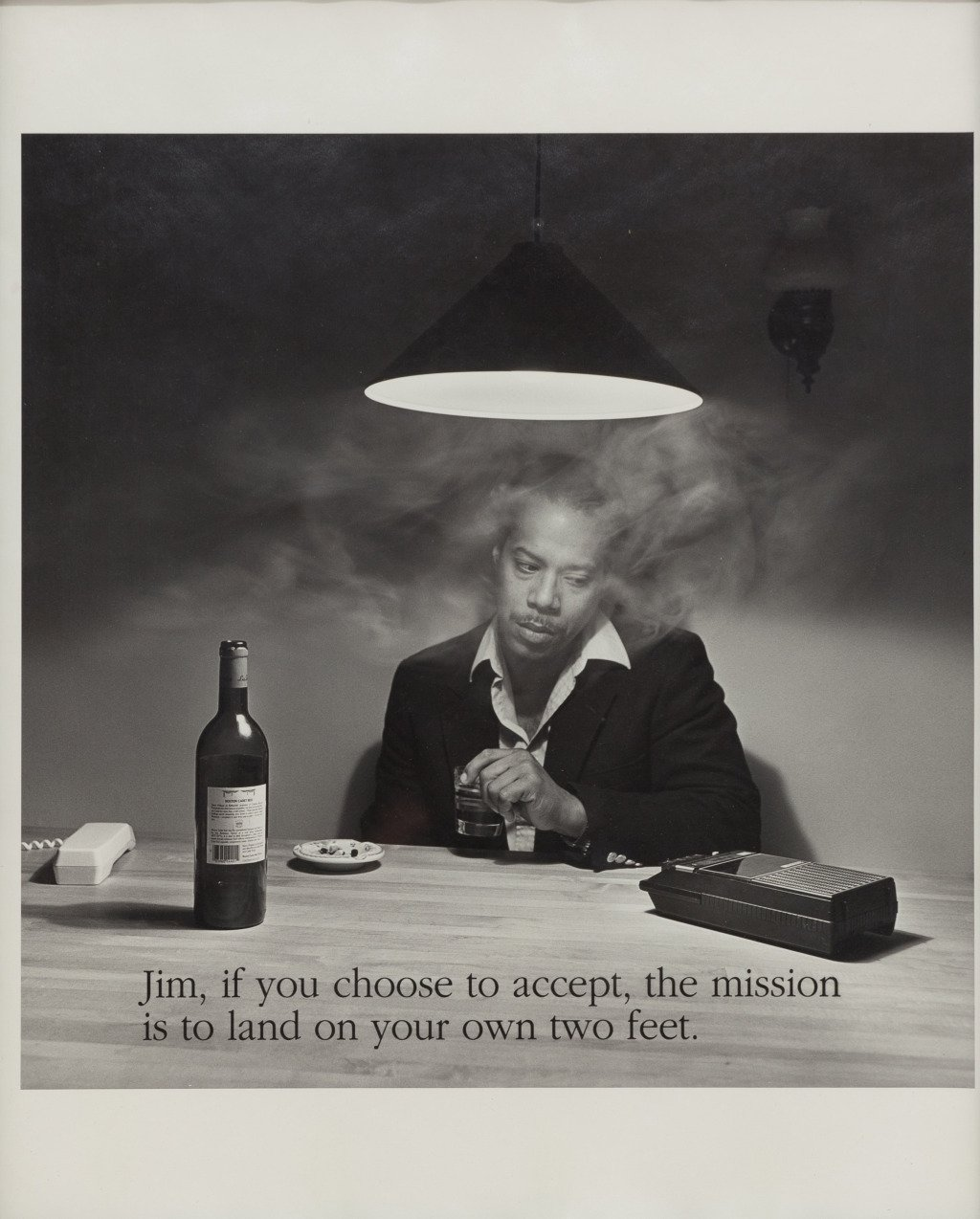 main work - Carrie Mae Weems, Jim, if you choose to accept...