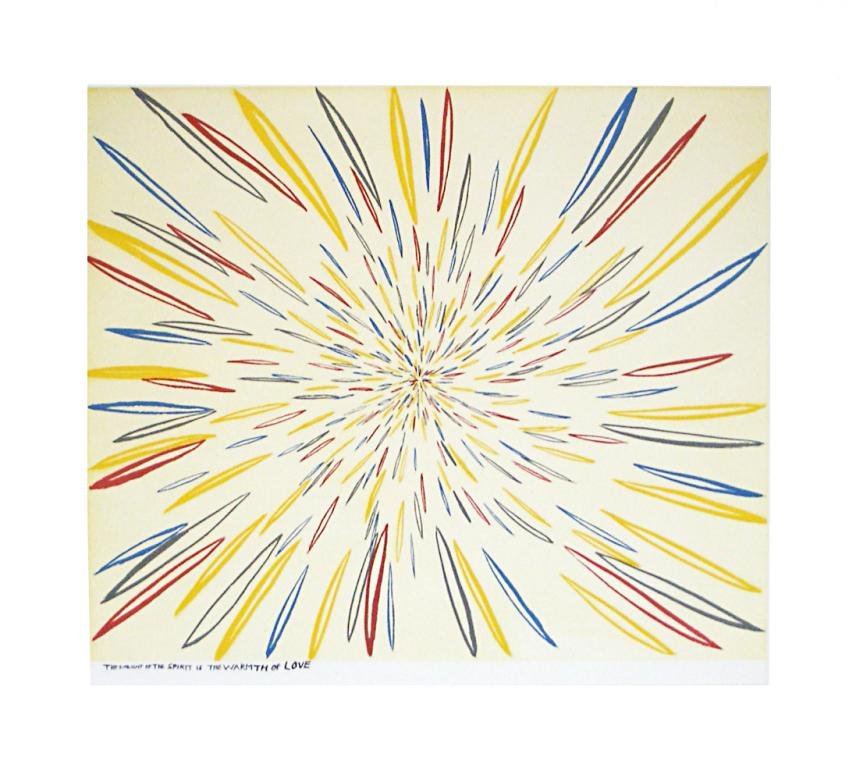 main work - Chris Johanson, The Sunlight of the spirit is the Warmth of Love