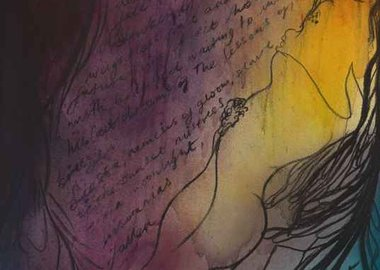 work by Chris Ofili - Siesta of the Soul