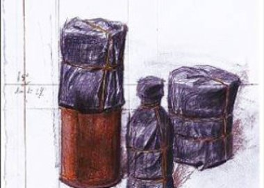 Christo  - Wrapped Bottle and Cans (project)