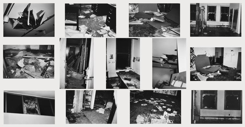 main work - Christopher Wool, Incident on 9th street