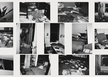 Christopher Wool - Incident on 9th street