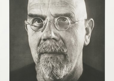 work by Chuck Close - Self-Portrait/Photogravure